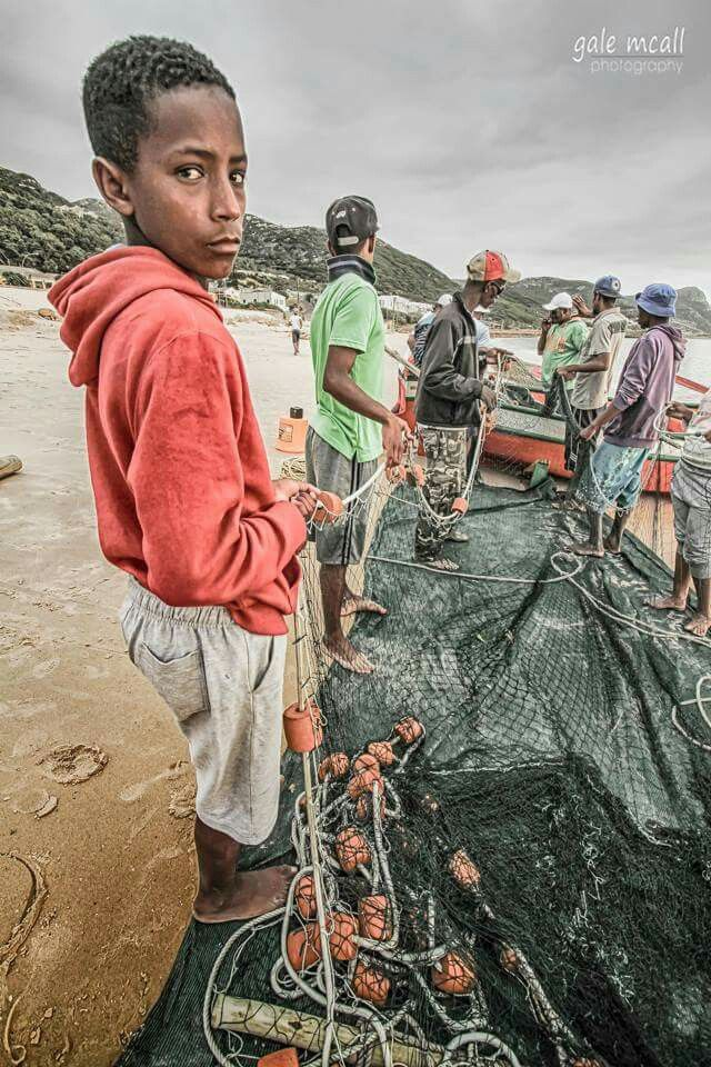 Cape Town fishermen