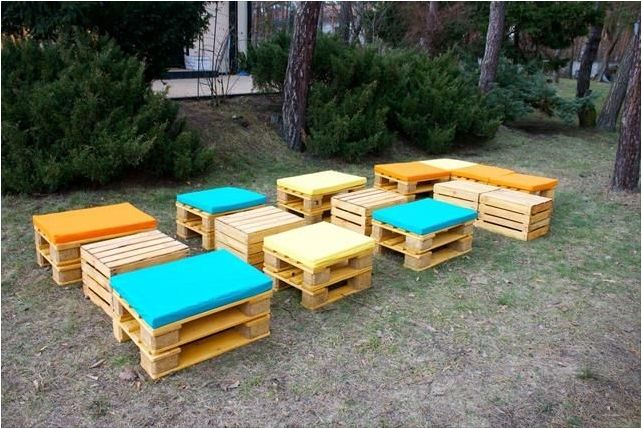 Pallet Furniture Diy Get A Unusual And Stylish Visual Appeal
