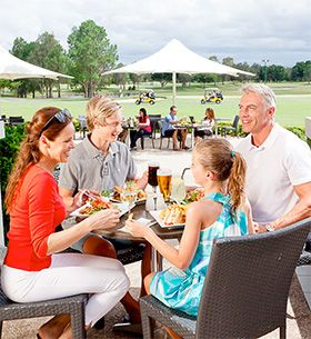 RACV Royal Pines Resort Tees' Clubhouse - Gold Coast Family Resort