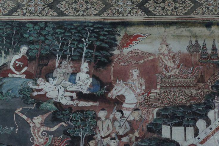 사문유관 | 19-20c., Wat Khongkharam, Ratchaburi, Thailand © photo_15'0721 by soosoo