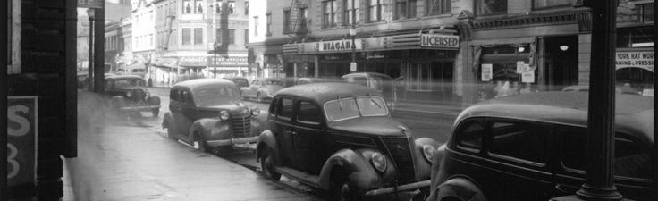 Ramada Limited Vancouver - Here is a historic snapshot of the street where the Ramada now stands!