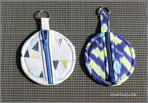 More ear buds! - Quokka Quilts  - I love this idea -  I want to make some in leather, my DH is a Guitar player and most pic cases are made for flat-picks.  I could make up a couple of these attaching one to a key ring to hold his thumb picks...