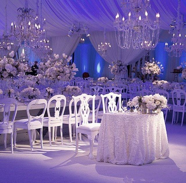 Indoor Wedding: Follow Us @SIGNATUREBRIDE On Twitter And On FACEBOOK