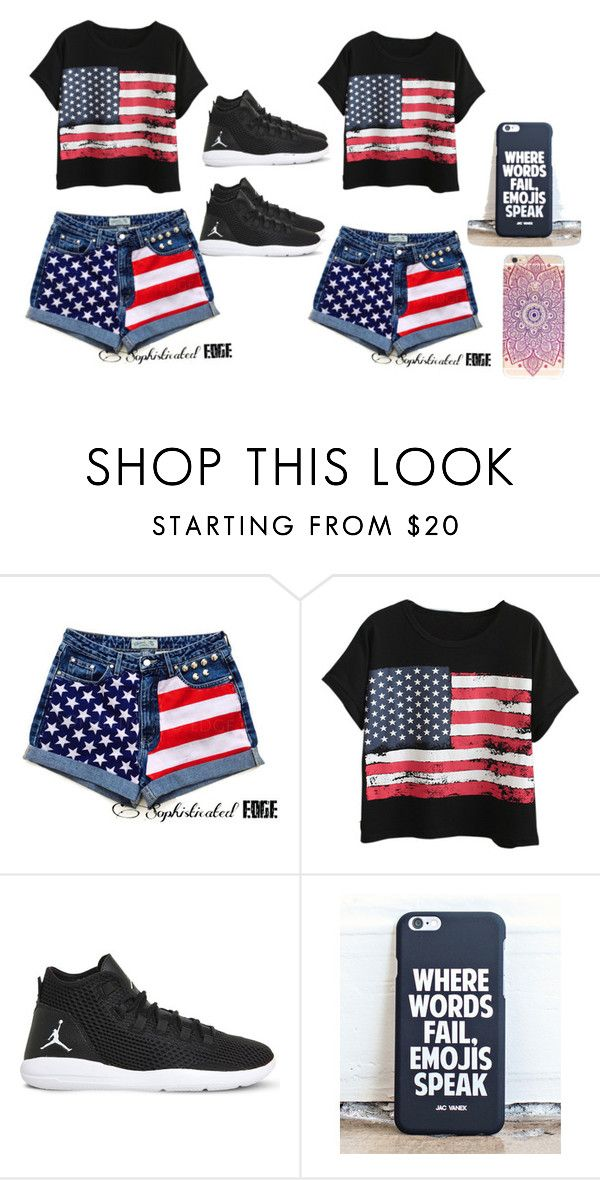 """""""American girl and dominican girl too 😘🇩🇴💯"""" by ashlycabreja06 on Polyvore featuring Chicnova Fashion and NIKE"""