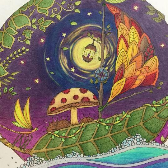 Adult Coloring Books Pride Tattoo Joanna Basford Colouring Techniques Prismacolor Secret Gardens Boats Colour Book