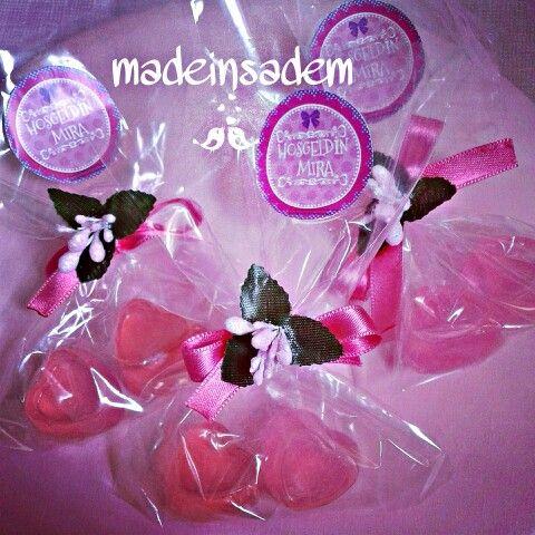 Renkli dekoratif sabun