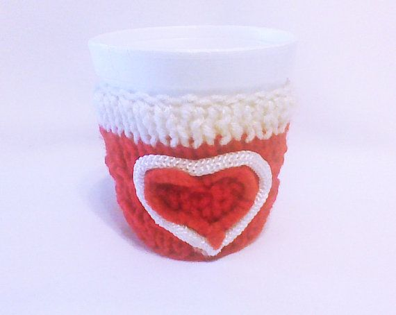 Hey, I found this really awesome Etsy listing at https://www.etsy.com/listing/175027082/red-and-white-hearts-cozy-knit-coffee