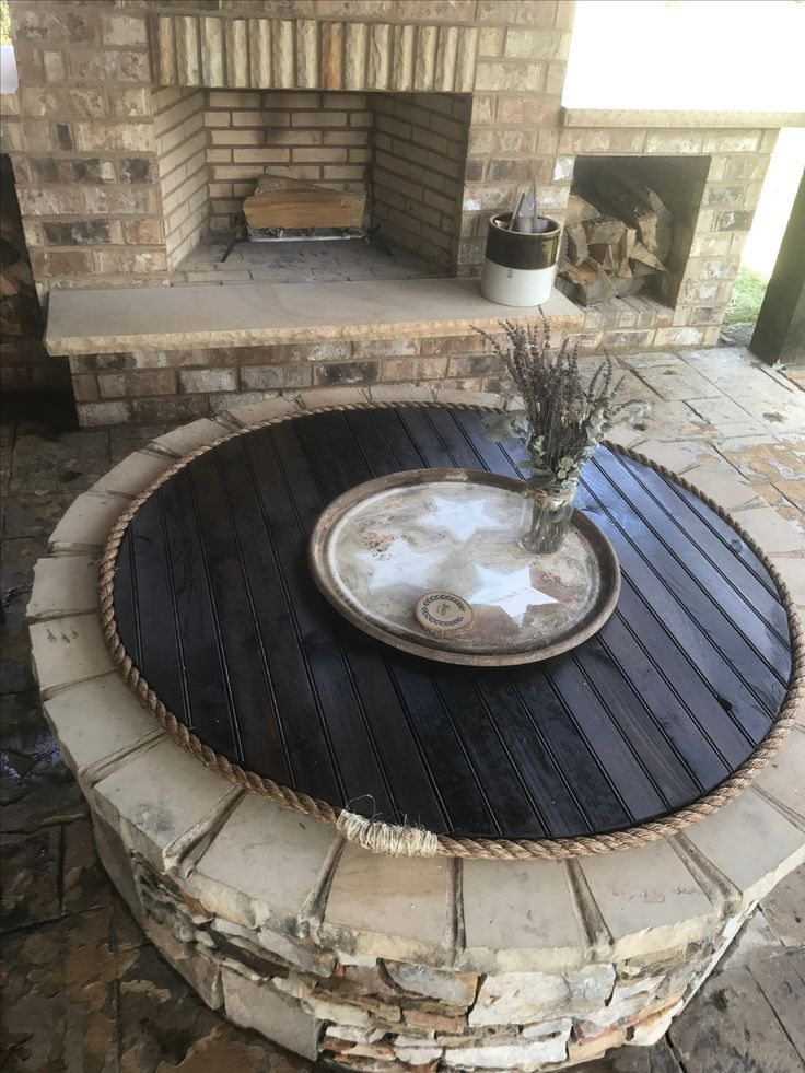 Best 20 Fire pit covers ideas on Pinterest  Outdoor fire
