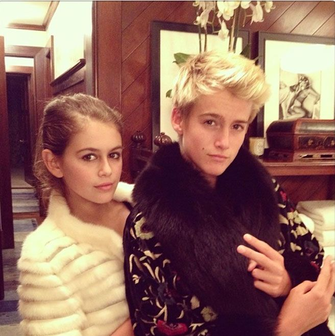 Cindy Crawford's Kids Are Super Instagrammers