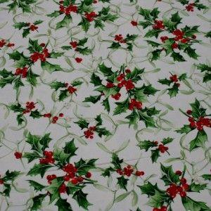 http://www.radicifabbrica.it/prodotto/tovagliato-natale-h-cm-280-disegno-9/ Tessuto panama per tovaglie con fantasia di Natale, il fondo del tessuto è bianco con stampato il pungitopo con foglie verdi e bacche rosse. tessuto: 100% cotone. altezza tessuto: cm 280 il prezzo di Euro 13.00 si intende al metro lineare. Lavabile in lavatrice a 30°