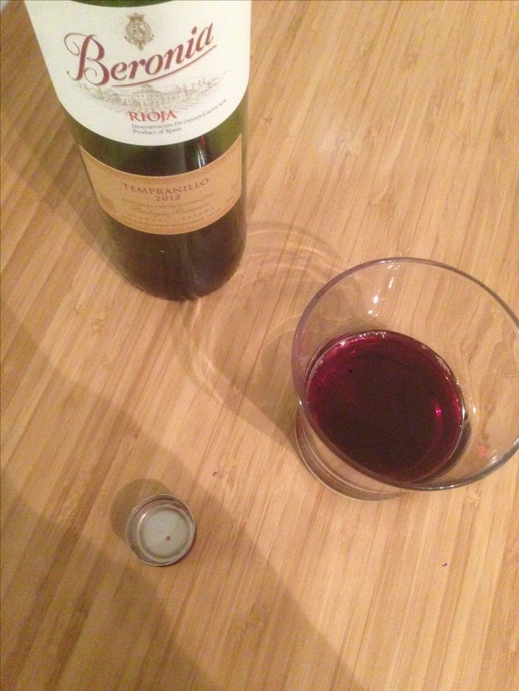 Beronia 2013 | tempranillo | spain | 3.75 stars | raspberry misidentified as blackberry...but still good