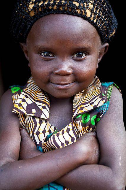 Little Zambian girl.