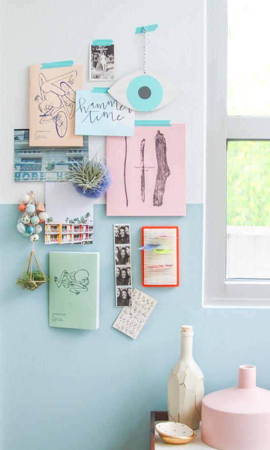 Creative Workspace // Pastels