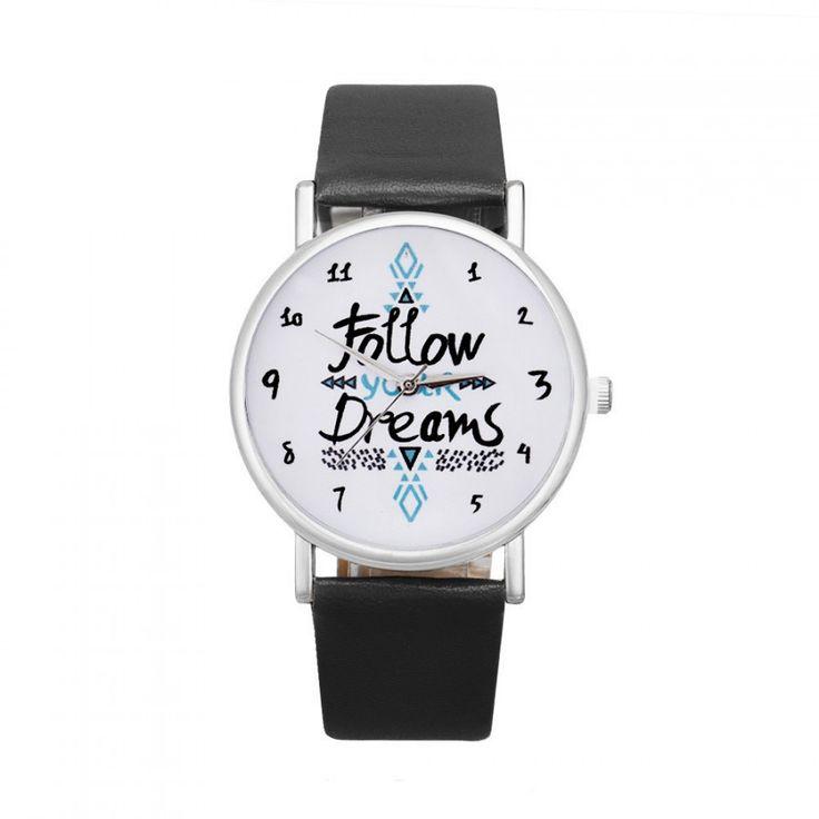 Dámské hodinky s nápisem v ciferníku černé- 30 % SLEVA + POŠTOVNÉ ZDARMA Na tento produkt se vztahuje nejen zajímavá sleva, ale také poštovné zdarma! Využij této výhodné nabídky a ušetři na poštovném, stejně jako …