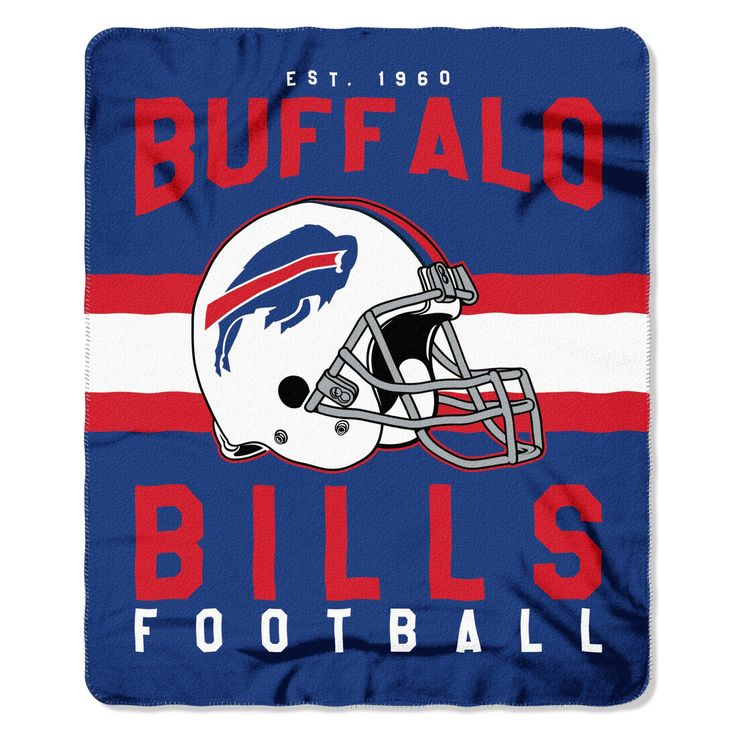 "NFL Buffalo Bills Northwest 50""x60"" Throw Blanket"