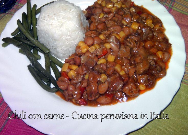 Cucina peruviana in Italia: Chili con carne