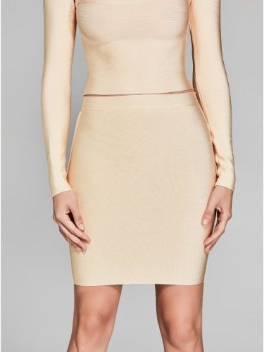 GUESS by Marciano Women's Mei High-Rise Bandage Skirt