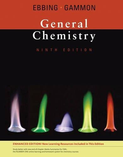 By Darrell Ebbing, Steven D. Gammon: General Chemistry, Enhanced Edition Ninth (9th) Edition