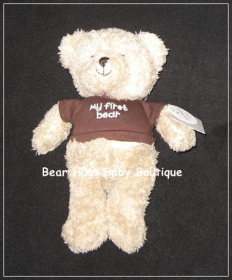 """My First Bear"" Plush Stuffed Carter's Baby Toy. #teddybear #baby"