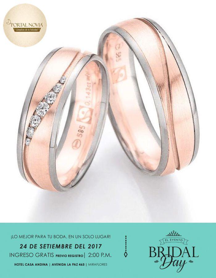 Ideas para tu anillo de Bodas . El oro rosado está muy en boga y no suele ser de un tono tan fuerte como antes. #Novia #Boda #Wedding
