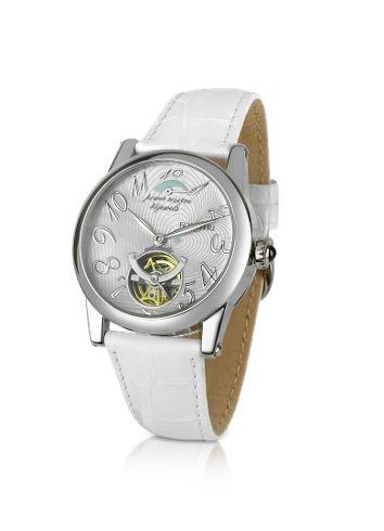 Forzieri Bermuda - Women's White Automatic Mechanical Watch
