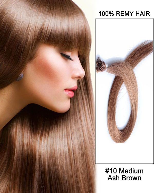 25 schne pre bonded hair extensions ideen auf pinterest 1410 medium ash brown straight flat tip 100 remy hair flat pre pmusecretfo Gallery
