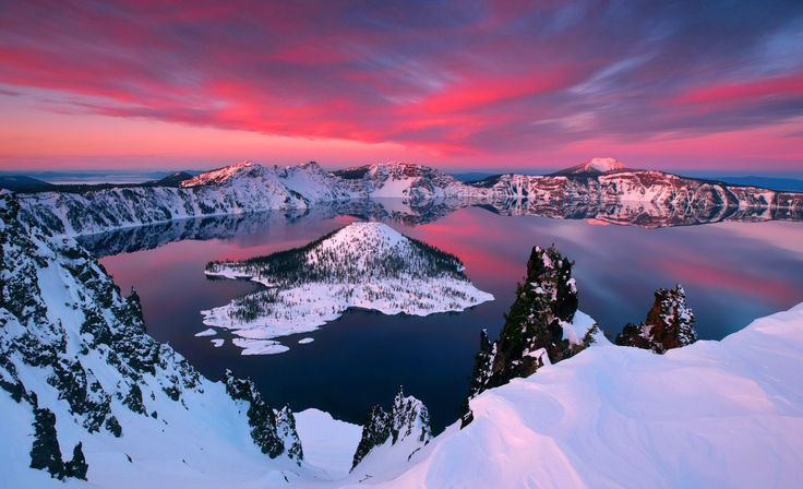 Oregon (OH) United States  City pictures : Crater Lake, Oregon, United States | Wanderlust | Pinterest