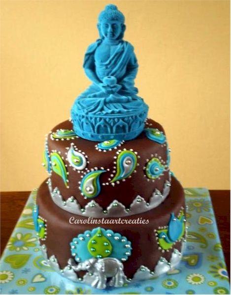 I love this Buddha cake!