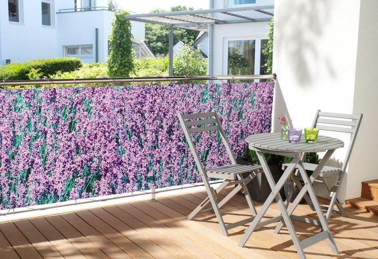 WOHNWOHL® Balkonumspannung Balkonbespannung Sichtschutz Windschutz 90x500cm in Garten & Terrasse, Gartenzäune & Sichtschutzwände, Sicht- & Lärmschutzwände | eBay!