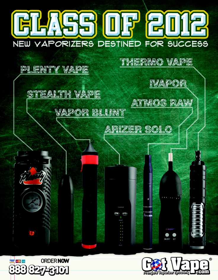 The Class of 2012 AD campaign was created to promote our new line of quality Vaporizers