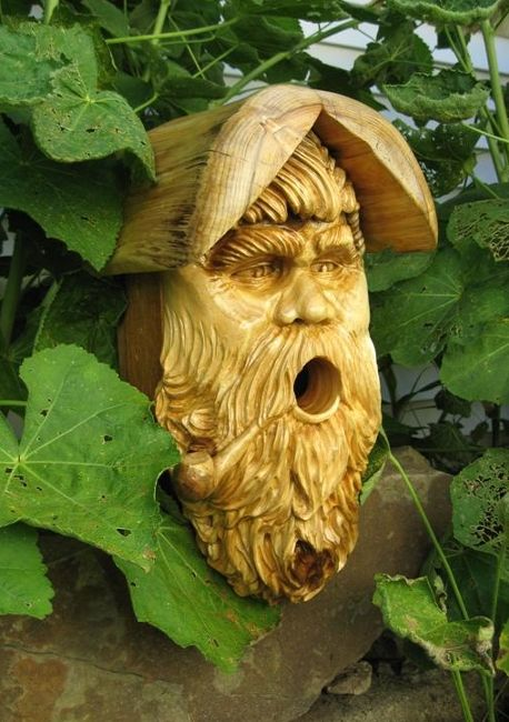 bird houses | Out of Thin Air - Custom Wood Carvings, Sculptures, Bird Houses ...