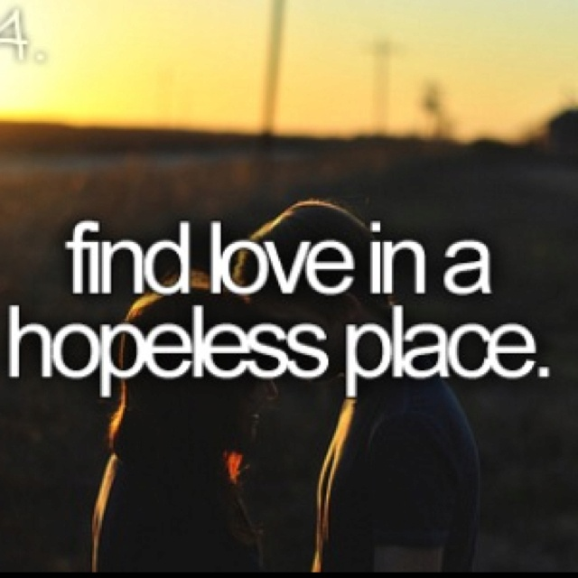 finding love in a hopeless place wattpad Finding love in a hopeless place with the inner circle the dating scene can be rough, but the arduous task of finding love can be a lot easier if you're part of the inner circle, a new dating app that's as discernible as you are.