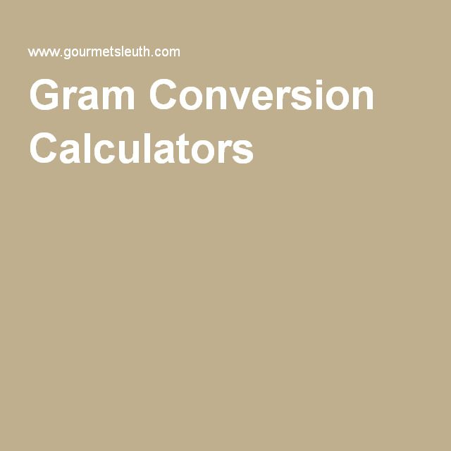 The 25 best conversion calculator ideas on pinterest recipe select the right gram conversion calculator to convert recipe ingredients from metric grams to u ounces teaspoons tablespoons or cups using simple or forumfinder Choice Image