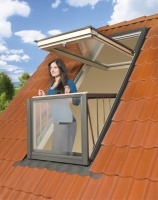 For the roof extension
