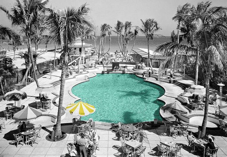 Vintage Miami by Andrew Fare Raleigh hotel miami, Miami