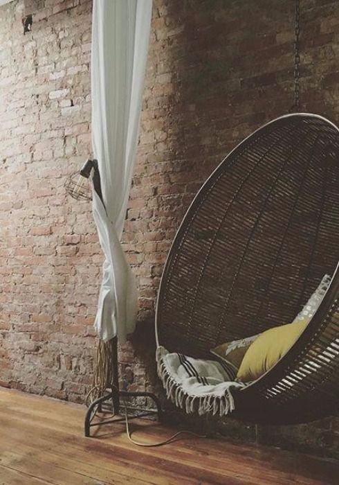 Rattan Hanging Chair   pinned by topista.com