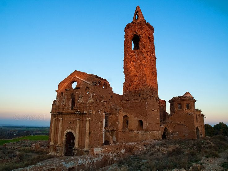 Religious Heritage, San Martin de Tours, Belchite, Spain photo by Paco Calvino