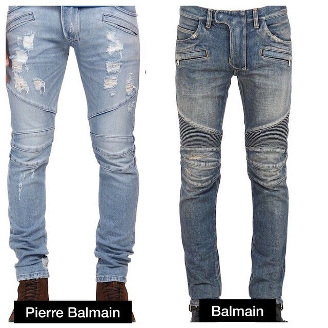 how to tell if balmain jeans are real