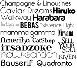 532 Basic Font Collection