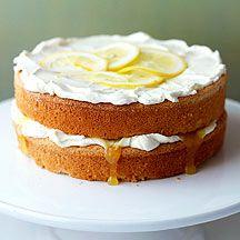 Gâteau anglais à la crème de citron
