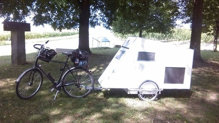 595 best images about bicycle trailers campers on pinterest. Black Bedroom Furniture Sets. Home Design Ideas