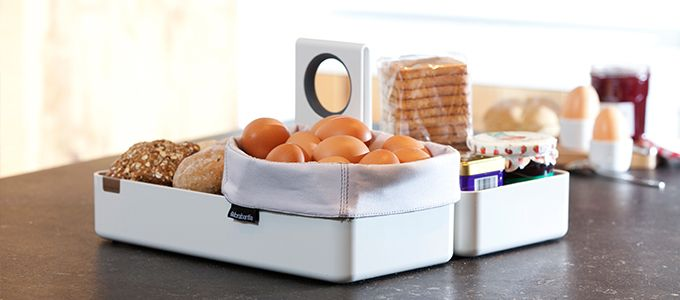 Кухонные корзины и подставки-органайзеры | Brabantia