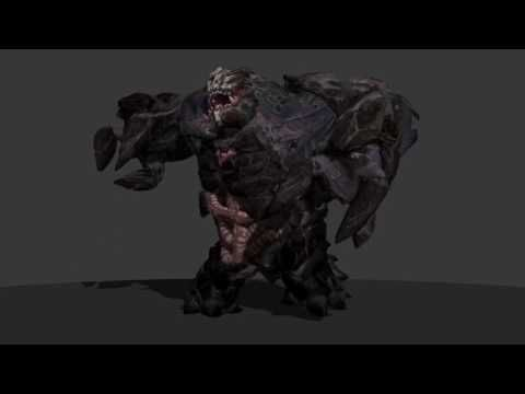EVOLVE Monster Game Animations by Sonny Santa Maria - YouTube