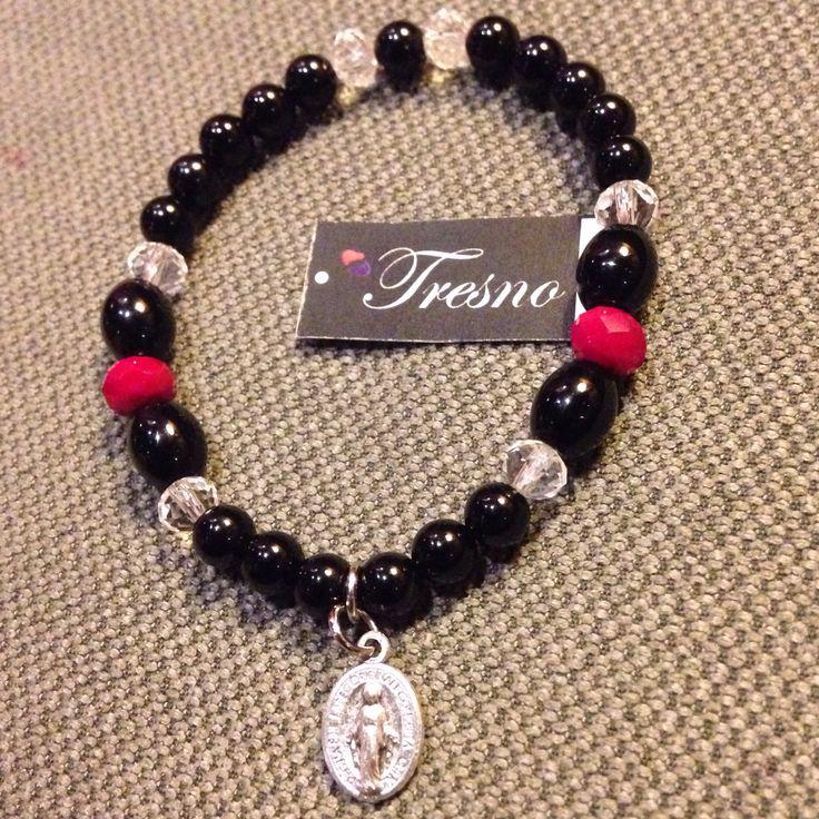 Black Onyx, 6mm bracelet
