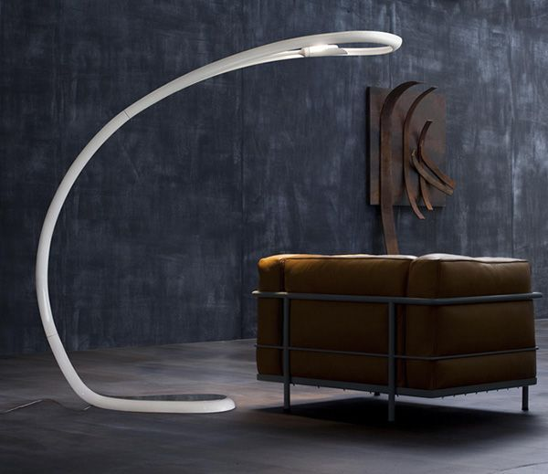 Arched Floor Lamp by Lucente — Touchey Design Magazine - Ideas and Inspiration