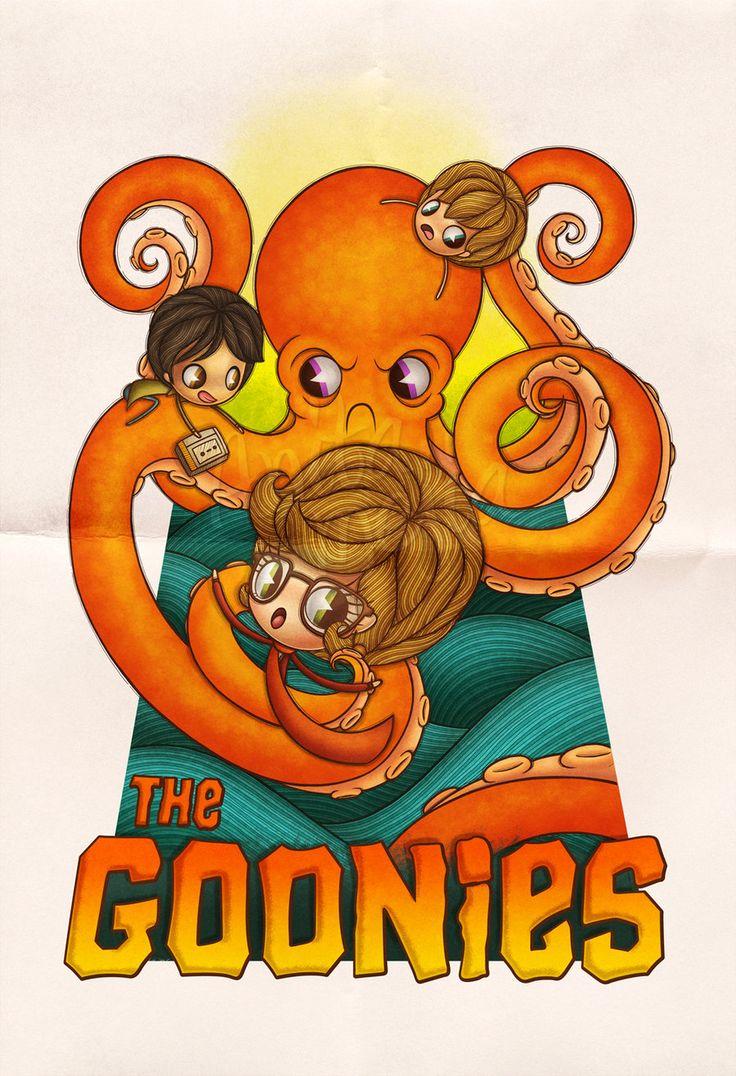 The Goonies by Chocolatita.deviantart.com on @deviantART
