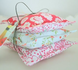 Handmade Dryer Fragrance Sachets so you dont have to keep buying dryer sheets