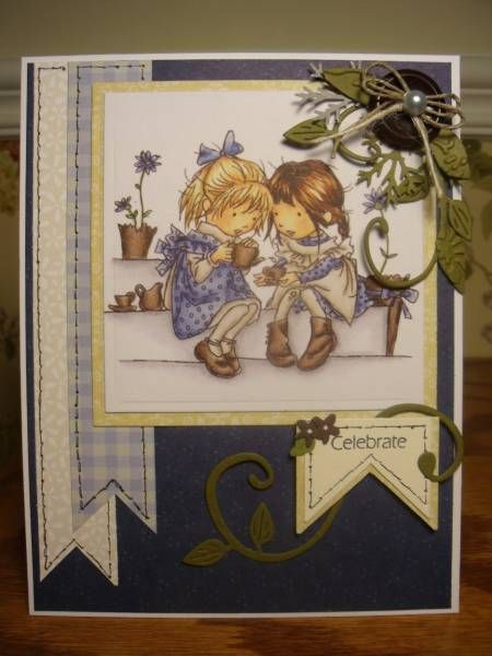 Mom K's B-day Tea by mitchygitchygoomy - Cards and Paper Crafts at Splitcoaststampers