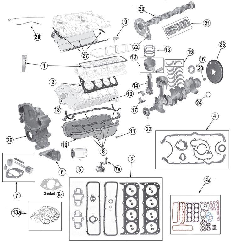amc 360 engine diagram