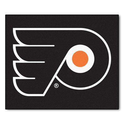 "FANMATS NHL - Philadelphia Flyers Doormat Rug Size: 2'10"" x 3'8.5"""